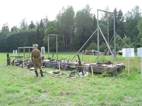 Re-enactment in Estonia 08.08.08