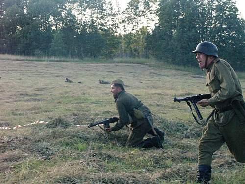 Reenacment in Estonia, summer 2007
