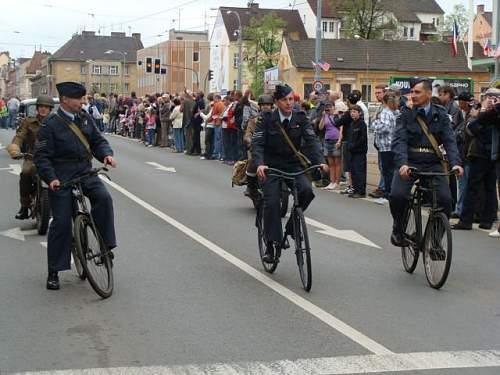 Pilsen liberation festival may 2011, Czech republic,