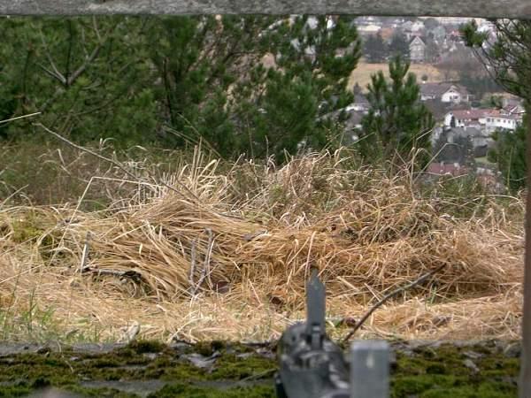 Rearming old bunker position west coast Norway