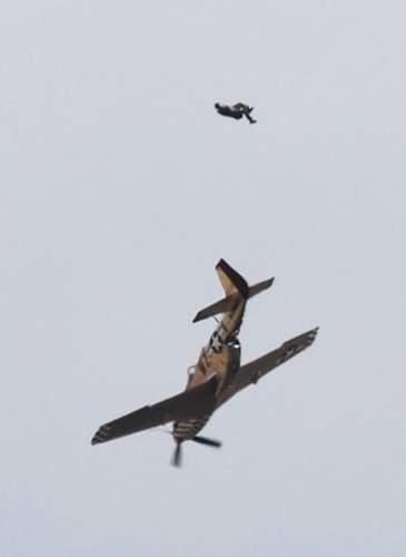 Duxford Air Show crash.