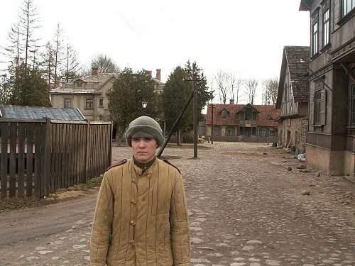 Reenactment in Latvia, Kurland pocket 1945