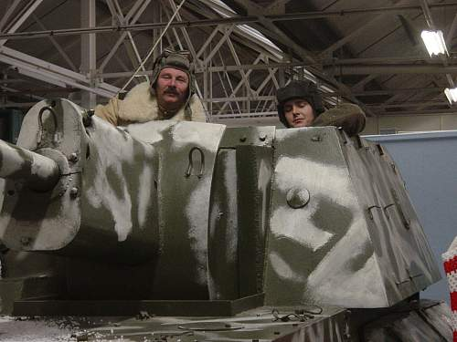 Wartime Xmas event at the Tank Museum