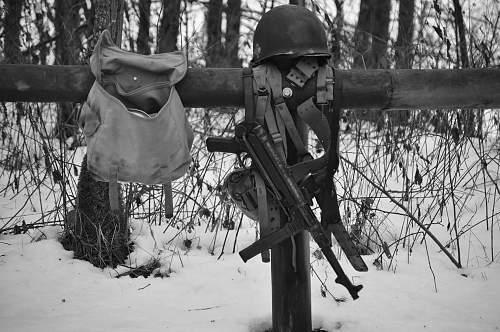 Battle Of The Bulge ( re-enactment Bastogne Belgium)