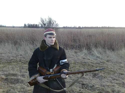 Estonia- Independence war 1918 year re-enactment