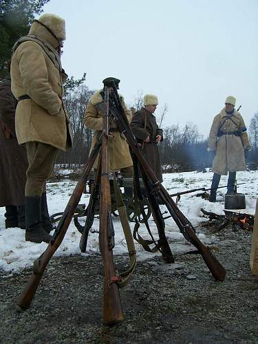 New re-enactment in Estonia. Civil War period (1918-1920)