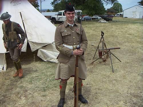 Midlands Military Meet CampbellTown Tasmania Nov. 24 2012