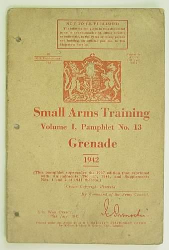 Click image for larger version.  Name:Grenade Manual 1942 001.jpg Views:35 Size:123.2 KB ID:462362