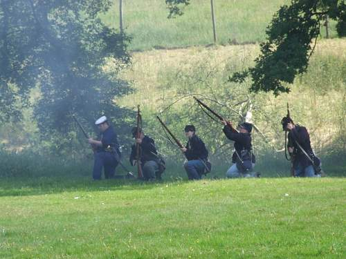 Battle breaks out in Tatton Park, Cheshire
