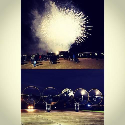 End of Season Fireworks- Lincs Aviation Museum East kirkby
