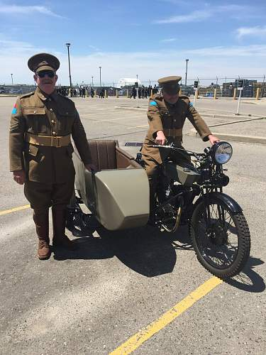 2 Old and Fat 4 CMRs with the Bike GGHG Change of Command Parade