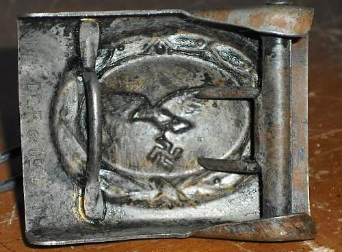 Luftwaffe belt buckle--is it real?