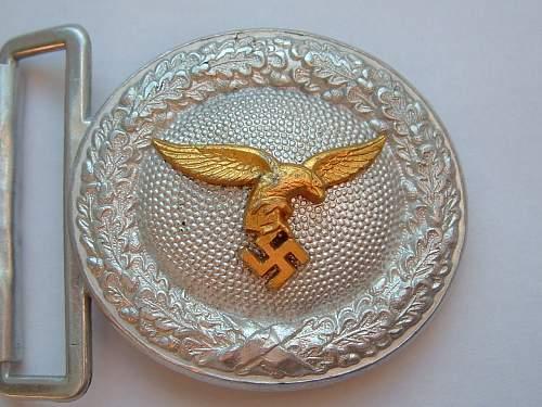 Fake Luftwaffe Buckles