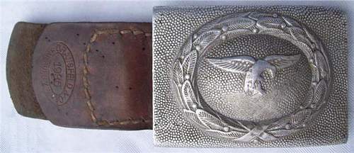 My latest Defaced luftwaffe Buckle