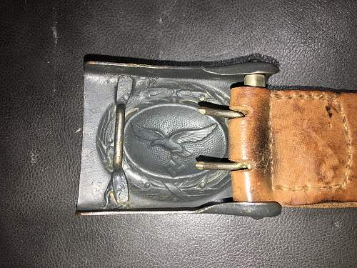 Luftwaffe buckle painted Opinions please