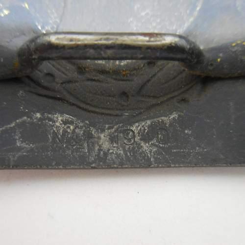Luftwaffe buckles  original ?