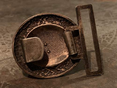 Luftwaffe Officer Buckle - Drooptail