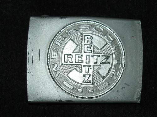 Buckle from the sales department of E.Reitz Antwerpen