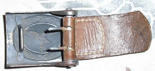 B&N 41 Lufty and a late war 95cm belt