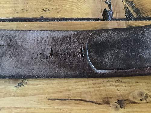 Buckle and belt