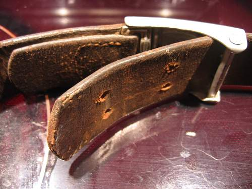 Luftwaffe buckle & belt on Craigslist