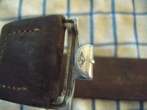 Luft buckle & belt