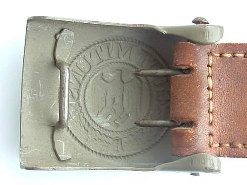 Help ID Luftwaffe buckle?