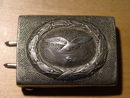 My first Luftwaffe buckle