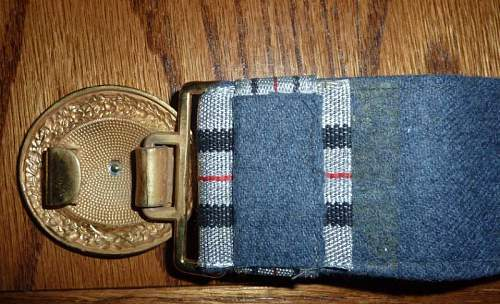 Luftwaffe Officer's Buckle: Opinions Please