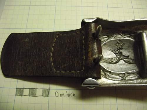 My luftwaffe belt buckle