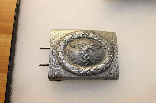 Heer and Luftwaffe Buckles, opinions needed,