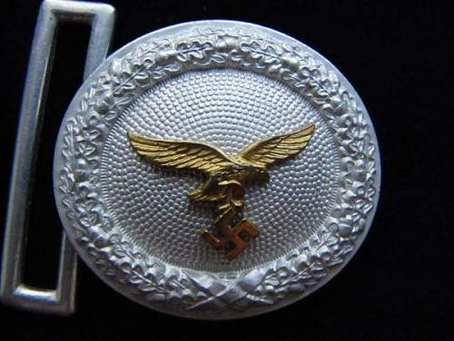Luftwaffe officers buckles