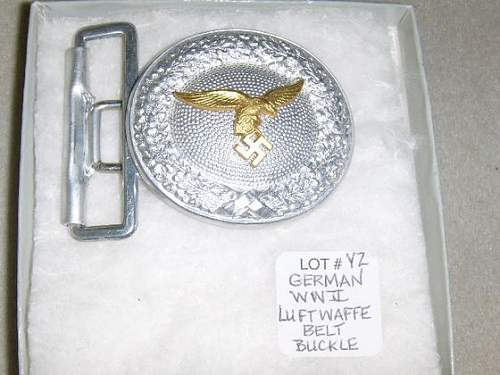 Luftwaffe officers buckle at auction