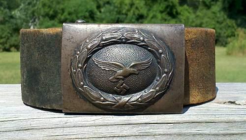 Luftwaffe belt and buckle