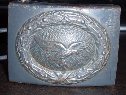 Is this Luftwaffe buckle good?
