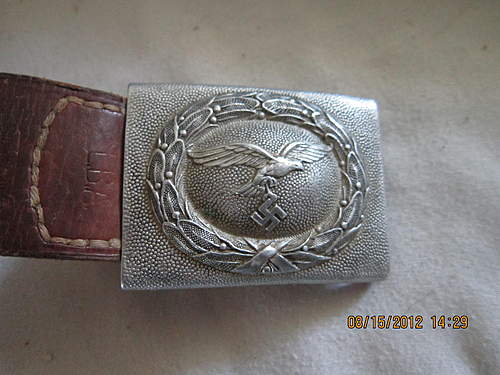 Luftwaffe buckle: Does anyone know if this is real or repro?