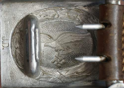 Luftwaffe JD buckle