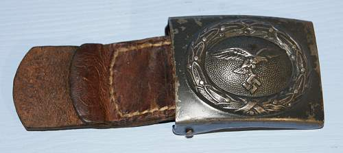 Luftwaffe R.S & S Steel buckle
