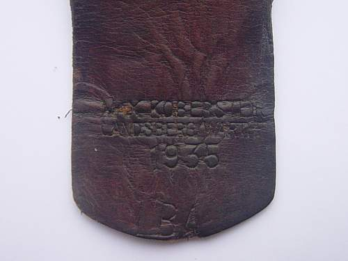 Click image for larger version.  Name:Luftwaffe 1st pattern belt buckle. 002.jpg Views:187 Size:190.5 KB ID:438642