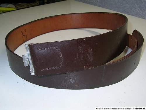 Luftwaffe belt L.B.A.B 37 Genuine