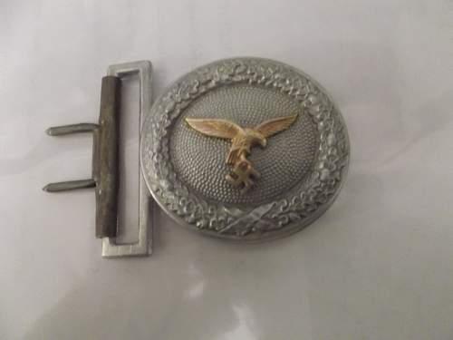 Luftwaffe officer's buckle
