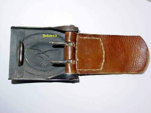 Luftwaffe Steel buckle