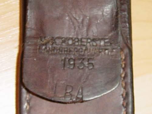 Click image for larger version.  Name:Luftwaffe 1st pattern belt buckle tab..jpg Views:106 Size:144.9 KB ID:4654