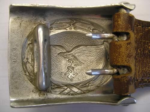 Luffwafte Belt & Buckle