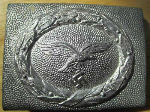 Luftwaffe Dress Buckle for review