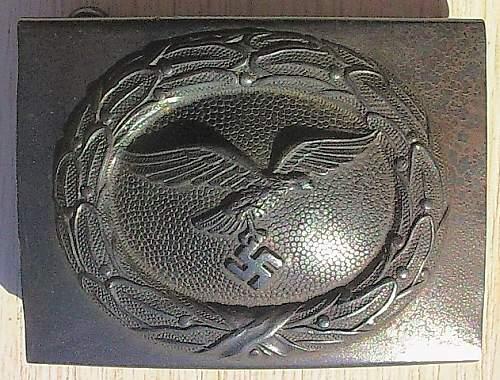 Luftwaffe Steel Buckle - H.Aurich