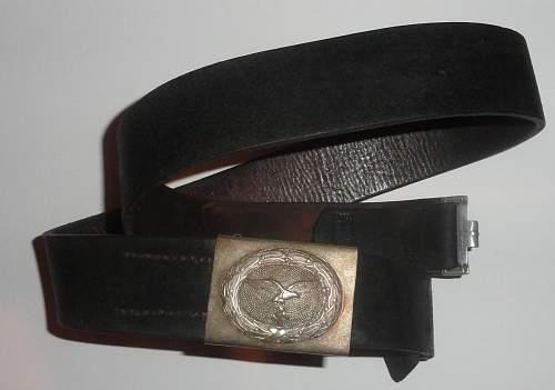 LW NCO Belt and Buckle