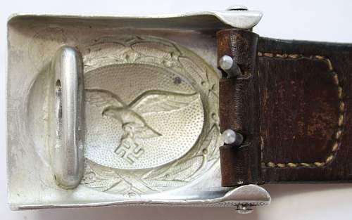 Luftwaffe Aluminium Buckle