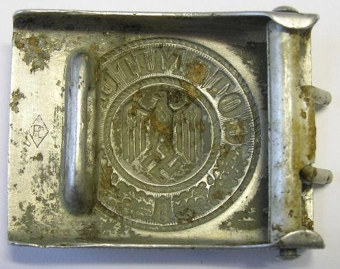 Two buckles - Luftwaffe and Heer
