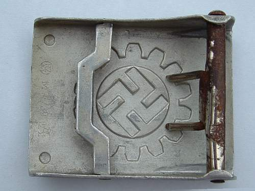 Droop tail luftwaffe buckle